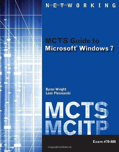 MCTS Guide to Microsoft Windows 7 (Exam # 70-680)   2011 edition cover