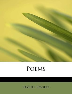 Poems  N/A 9781115963770 Front Cover