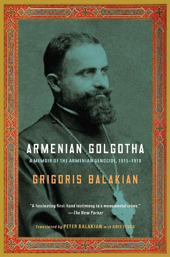 Armenian Golgotha  N/A edition cover