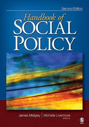 Handbook of Social Policy  2nd 2009 edition cover
