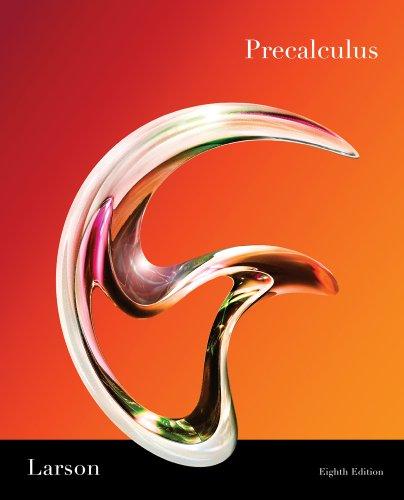 Precalculus  8th 2011 edition cover