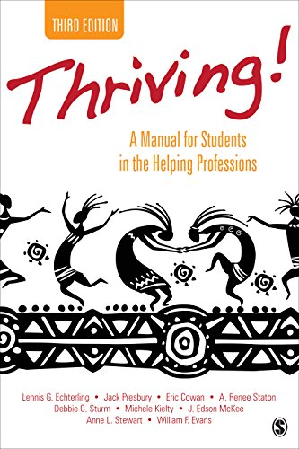 Thriving! A Manual for Students in the Helping Professions 3rd edition cover