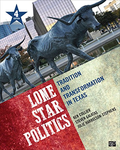 Lone Star Politics: Tradition and Transformation in Texas 4th 2015 9781483352770 Front Cover