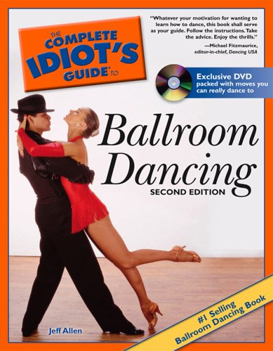 Complete Idiot's Guide to Ballroom Dancing  2nd 2006 edition cover