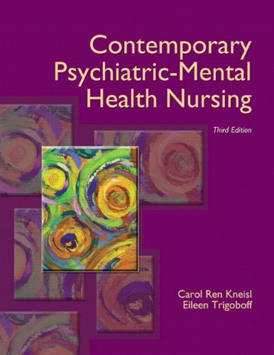 Contemporary Psychiatric-Mental Health Nursing  3rd 2013 (Revised) edition cover