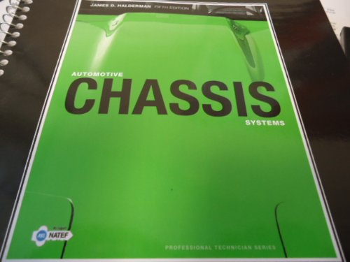 NATEF Correlated Job Sheets for Automotive Chassis Systems  5th 2010 edition cover