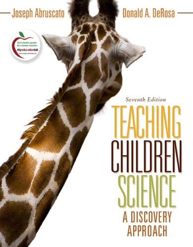 Teaching Children Science A Discovery Approach 7th 2010 edition cover