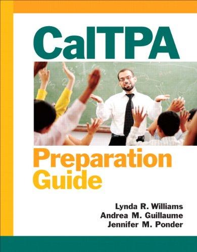 CalTPA Preparation Guide   2013 edition cover