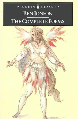 Ben Jonson - Complete Poems   1975 edition cover