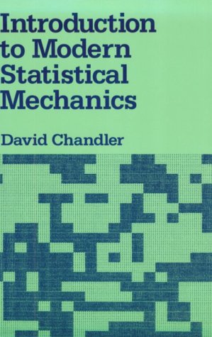 Introduction to Modern Statistical Mechanics   1987 edition cover