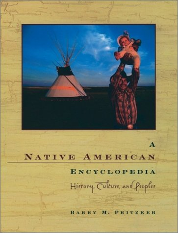Native American Encyclopedia History, Culture, and Peoples  2000 edition cover
