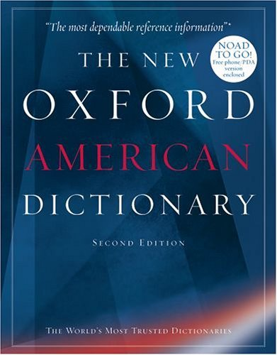 New Oxford American Dictionary  2nd 2005 (Revised) edition cover