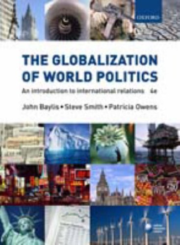 Globalization of World Politics  4th 2007 edition cover