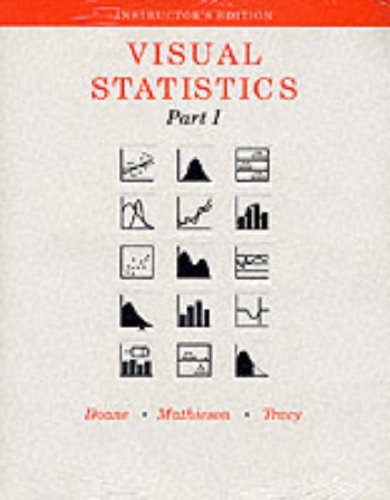 Visual Statistics N/A 9780256208771 Front Cover