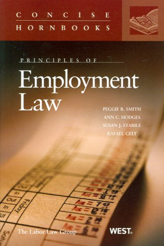 Principles of Employment Law  N/A edition cover