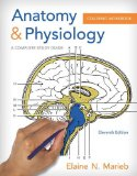 Anatomy and Physiology Coloring Workbook A Complete Study Guide 11th 2015 9780321960771 Front Cover