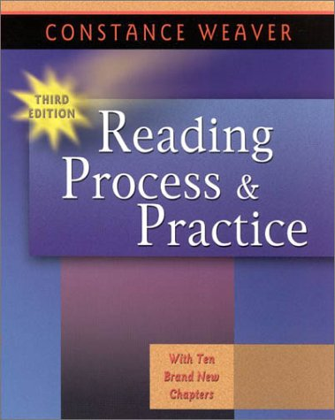Reading Process and Practice  3rd 2002 edition cover