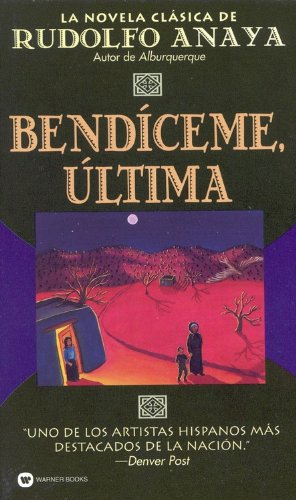 Bless Me, Ultima  N/A edition cover