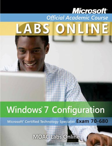 Windows 7 Configuring Virtual Lab (70-680)   2011 edition cover