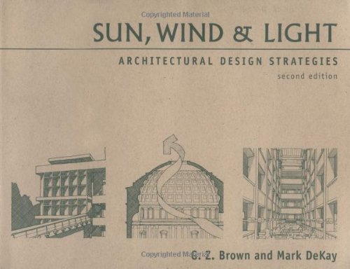 Sun, Wind and Light Architectural Design Strategies 2nd 2001 (Revised) edition cover