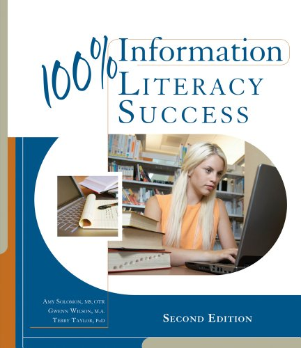 100% Information Literacy Success  2nd 2012 edition cover