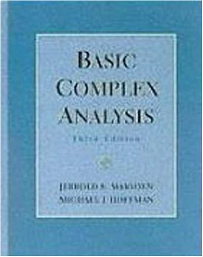 Basic Complex Analysis  3rd 1999 (Revised) edition cover