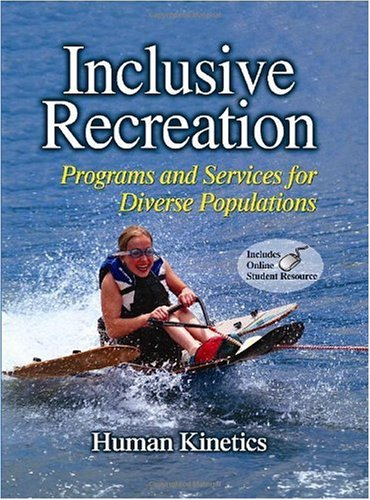 Inclusive Recreation Programs and Services for Diverse Populations  2010 edition cover