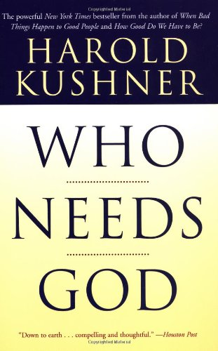 Who Needs God  3rd 2002 edition cover