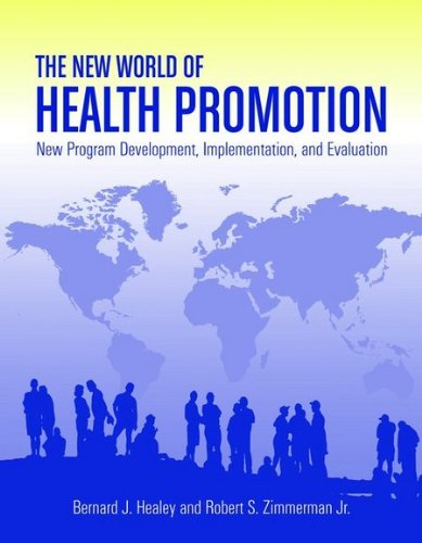 New World of Health Promotion New Program Development, Implementation, and Evaluation  2010 edition cover