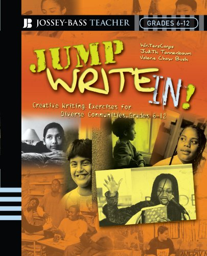 Jump Write In! Creative Writing Exercises for Diverse Communities, Grades 6-12  2005 edition cover