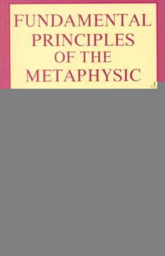 Fundamental Principles of the Metaphysic of Morals  Unabridged  9780879753771 Front Cover
