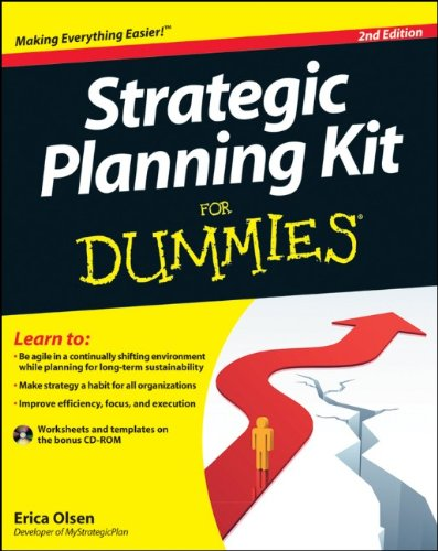 Strategic Planning Kit for Dummies�  2nd 2011 edition cover
