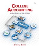 College Accounting A Career Approach 12th 2015 edition cover