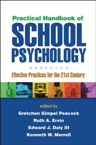 Practical Handbook of School Psychology Effective Practices for the 21st Century  2010 edition cover
