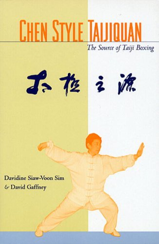 Chen Style Taijiquan The Source of Taiji Boxing  2001 9781556433771 Front Cover
