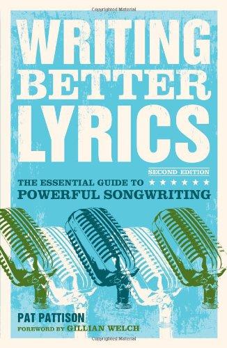 Writing Better Lyrics  2nd 2010 edition cover