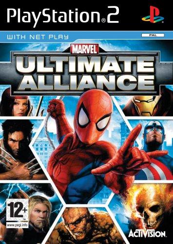 Marvel: Ultimate Alliance (englisch) PlayStation2 artwork