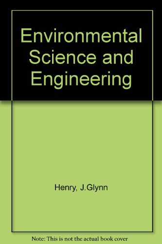 Environmental Science and Engineering  1989 9780132831772 Front Cover