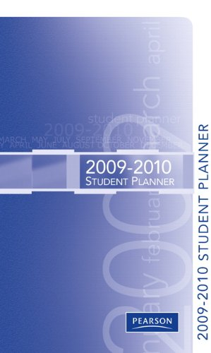 PH Premier Planner 2009-2010   2010 9780137034772 Front Cover