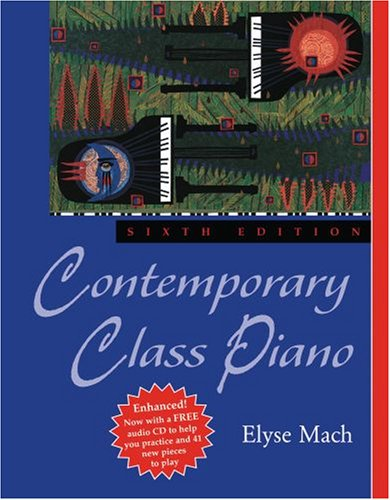 Contemporary Class Piano  6th 2010 edition cover