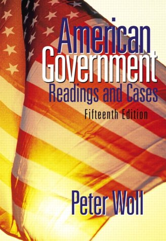 American Government Readings and Cases 15th 2004 (Revised) edition cover