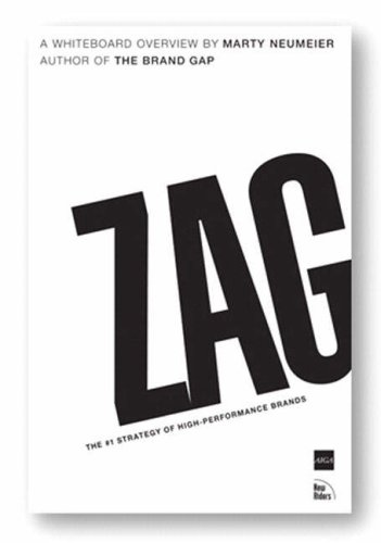 Zag The #1 Strategy of High-Performance Brands  2007 edition cover