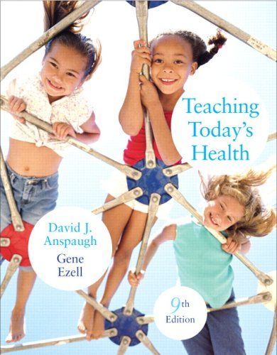 Teaching Today's Health  9th 2010 edition cover