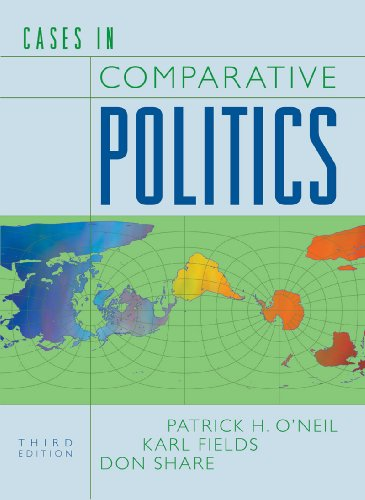 Cases in Comparative Politics  3rd 2009 edition cover