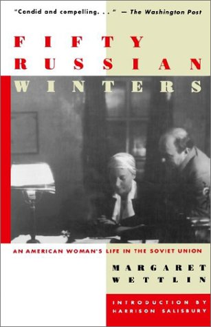 Fifty Russian Winters An American Woman's Life in the Soviet Union  1993 9780471028772 Front Cover