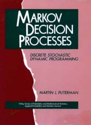 Markov Decision Processes Discrete Stochastic Dynamic Programming 1st 1994 edition cover