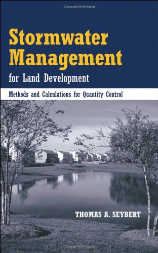 Stormwater Management for Land Development Methods and Calculations for Quantity Control  2006 edition cover
