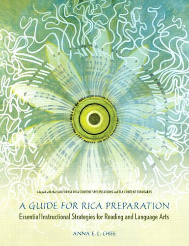 Guide for RICA Preparation Essential Instructional Strategies for Reading and Language Arts  2008 9780536484772 Front Cover
