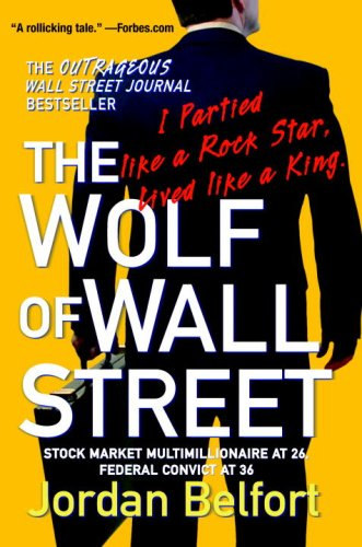 Wolf of Wall Street  N/A 9780553384772 Front Cover