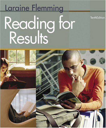 Reading for Results  10th 2008 9780618766772 Front Cover